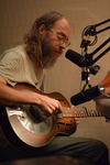 Charlie Parr strums his stuff and melts faces in the Bike Rides studio